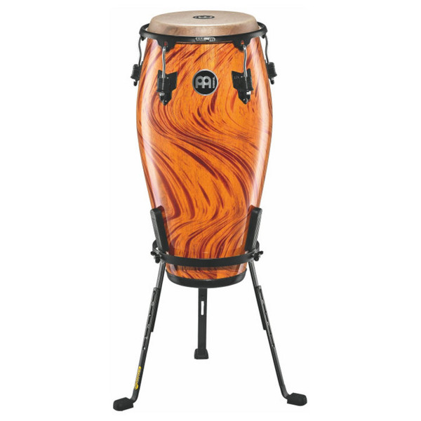 "Meinl 11"" Marathon Designer Series Wood Conga - Amber Flame Finish"