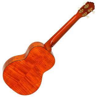 Ortega RUE12FMH Electro-Acoustic Tenor Ukulele, Flamed Mahogany - back