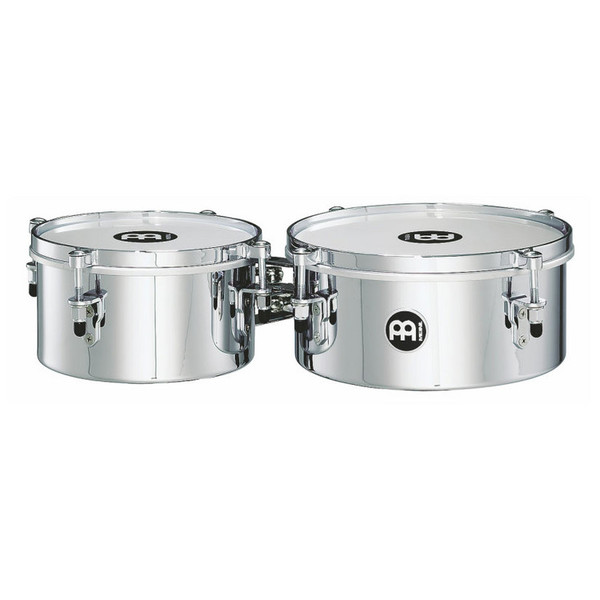 "Meinl MIT810CH 8"" & 10"" Mini Timbale, Chrome"
