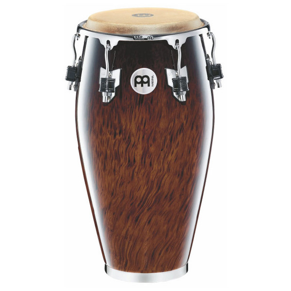 "Meinl MP1134BB 11 3/4"" Professional Series Wood Conga, Brown Burl"