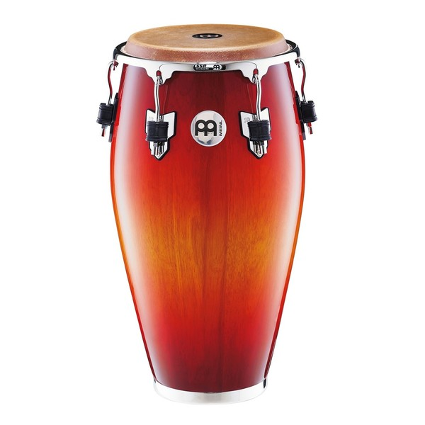 """Meinl 11"""" Professional Series Wood Conga, Aztec Red Fade"""