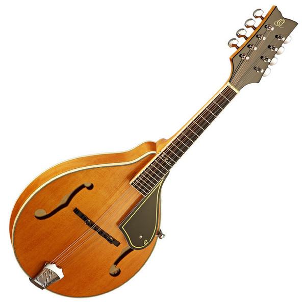 Ortega RMA50VY A-Style Mandolin, Vintage Yellow