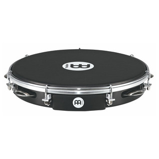 "Meinl PA10ABS-BK-NH 10"" Traditional ABS Pandeiro, Napa Head, Black"