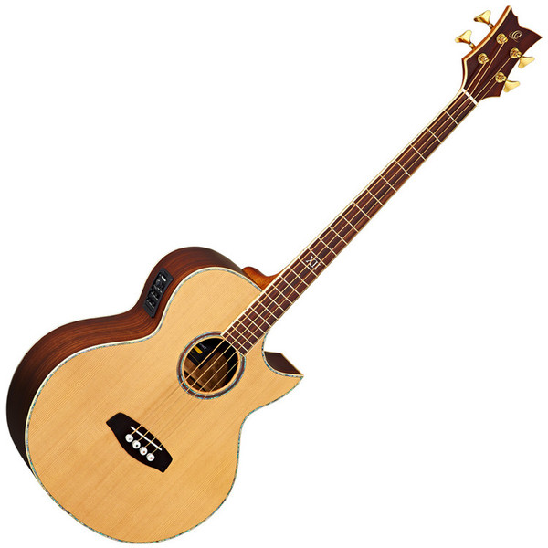 Ortega D2-4 Deep Series Acoustic Bass, 4-String