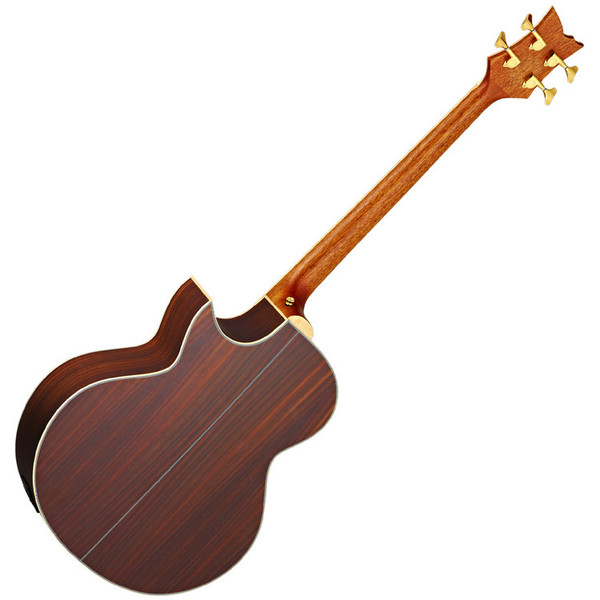 Ortega D2-4 Deep Series Acoustic Bass, 4-String Rear