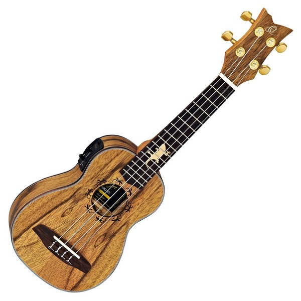 Ortega LIZARD-SO-GB Soprano Ukulele, Dao