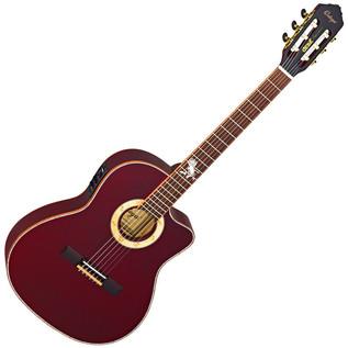 Ortega FDSM Frank Dellé Signature Electro Classical Guitar, Spruce