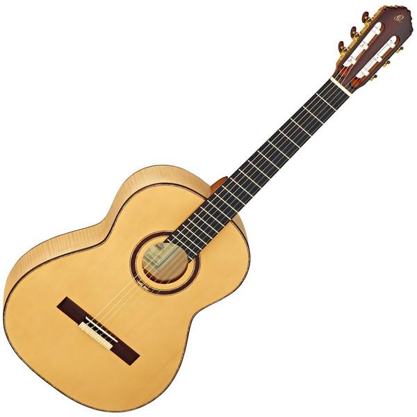 Ortega M6CS Custom Master Selection Classical Guitar, European Spruce