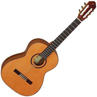 Ortega M7CS Custom Master Selection Classical Guitar, Red Cedar