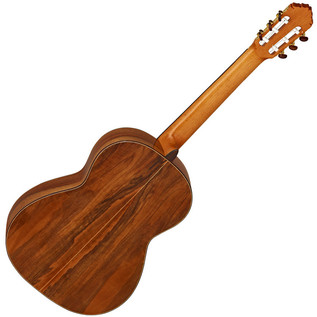 Ortega M7CS Custom Master Selection Classical Guitar, Red Cedar Rear