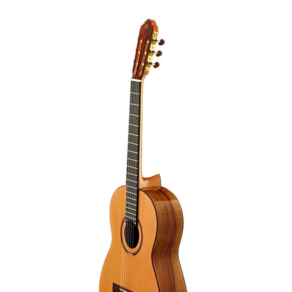 Ortega M7CS Custom Master Selection Classical Guitar, Red Cedar Detail