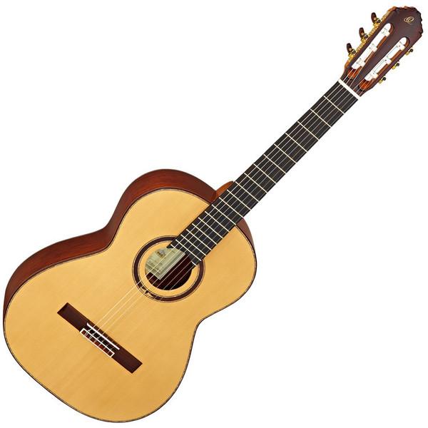 Ortega M8CS Custom Master Selection Classical Guitar, European Spruce