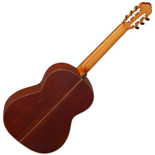Ortega M8CS Custom Master Selection Classical Guitar, European Spruce Rear
