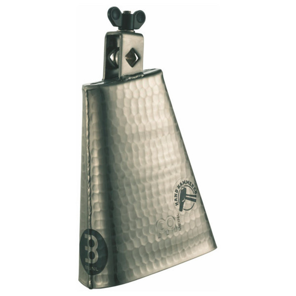 """Meinl STB625HH-G 6 1/4"""" Hammered Cowbell, Hand Brushed Gold"""