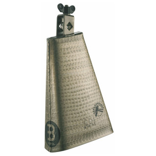 "Meinl STB80BHH-G 8"" Hammered Cowbell, Hand Brushed Gold"