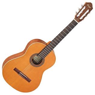 Ortega R180-3/4 Classical Guitar, 3/4 Size Solid Cedar Top