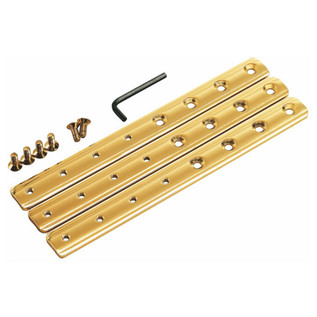Meinl ST-HEG Steely II Conga Stand Height Expander Set, Gold Tone