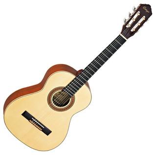 Ortega R133-3/4 Classical Guitar, 3/4 Size, Solid Spruce Top