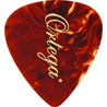 Ortega OGP-TO-H10 Celluloid Picks, Heavy, Tortoise, Pack of 10