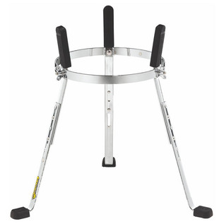 "MEINL ST-WC1134CH 11 3/4"" Steely II Conga Stands, Woodcraft, Chrome"