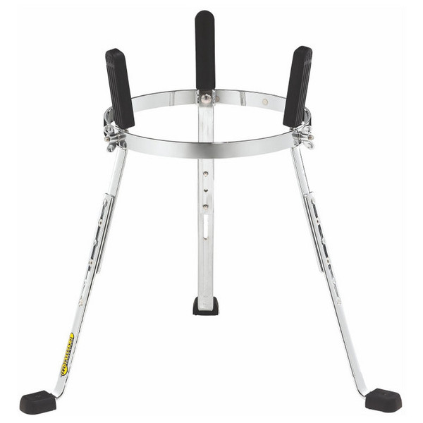 """MEINL ST-WC1134CH 11 3/4"""" Steely II Conga Stands, Woodcraft, Chrome"""