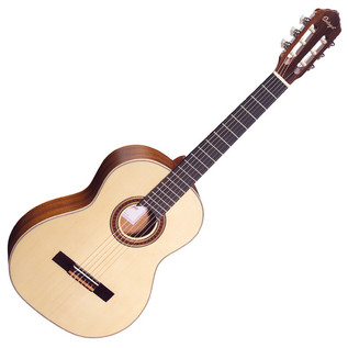 Ortega R133 Classical Guitar, Solid Spruce Top