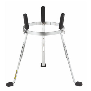 "MEINL ST-WC11CH 11"" Steely II Conga Stands, Woodcraft, Chrome"