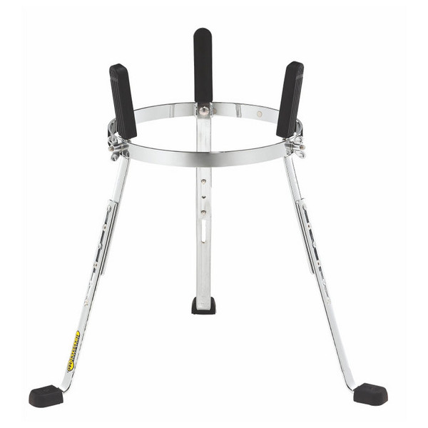 """MEINL ST-WC11CH 11"""" Steely II Conga Stands, Woodcraft, Chrome"""