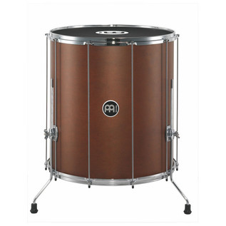 "Meinl SU22-L-AB-M Samba Traditional 22"" Wood Surdos, African Brown"