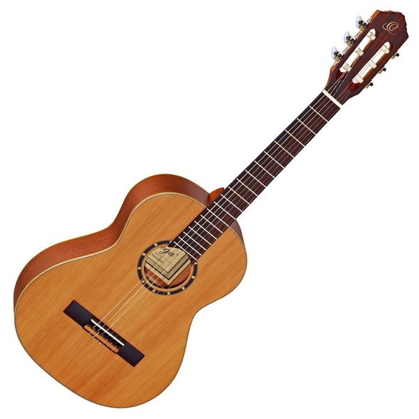Ortega R122-3/4 Nylon, Cedar Top - Front View