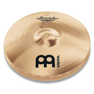 Meinl SC13MH-B Soundcaster Custom 13 inch Medium Hi-hat - Brilliant
