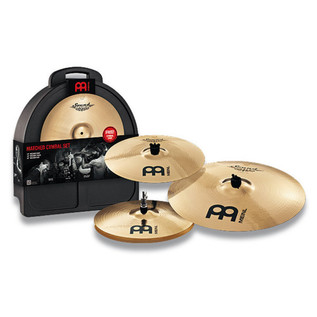 Meinl SC-141620M Soundcaster Custom Cymbal Pack - Hi-hat, Crash, Ride