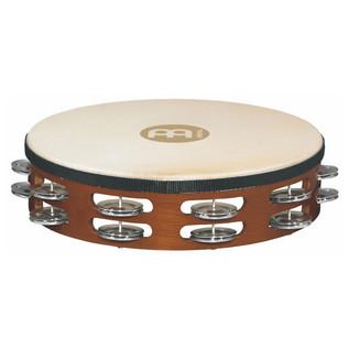 Meinl TAH2A-AB Double Row Headed Wood Tambourines, Aluminium Jingles