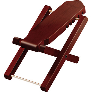 Ortega OWFS-1WR Foot Stool, Maple, Wine Red
