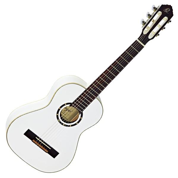 Ortega R121-1/2WH Classical Guitar, 1/2 Size, White
