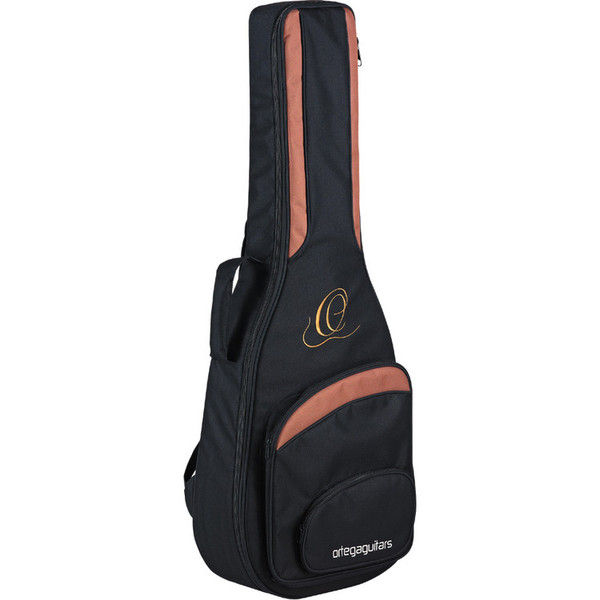 Ortega D2-4 Deep Series Acoustic Bass, 4-String Gig Bag
