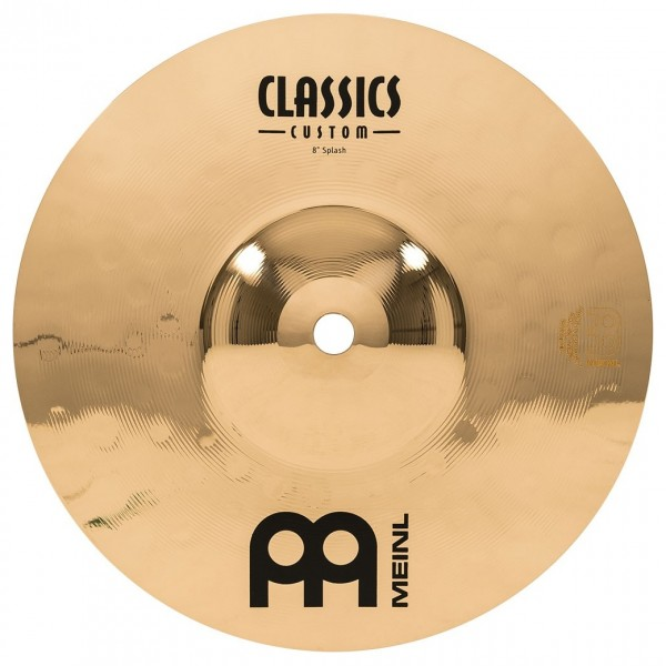 "Meinl Classic Custom Extreme 8"" Splash Cymbal"