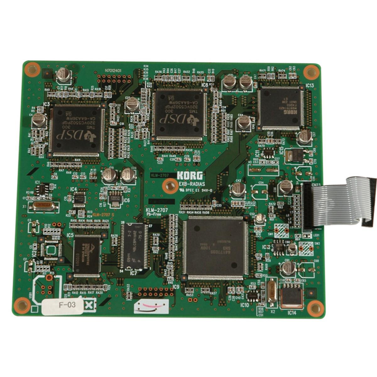 disc korg exb radias expansion board for m3 at gear4music com rh gear4music com Korg Radias for M3 Korg Radias Box