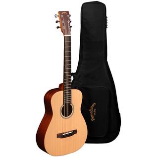 Sigma TM-12 Acoustic Travel Guitar, Natural