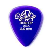 12 x Dunlop Delrin Prime Grip Guitar Picks Plectrums 0.46mm Red In A Pick Tin