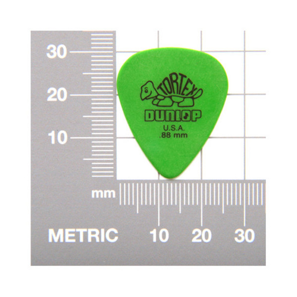 Tortex Picks Measurements