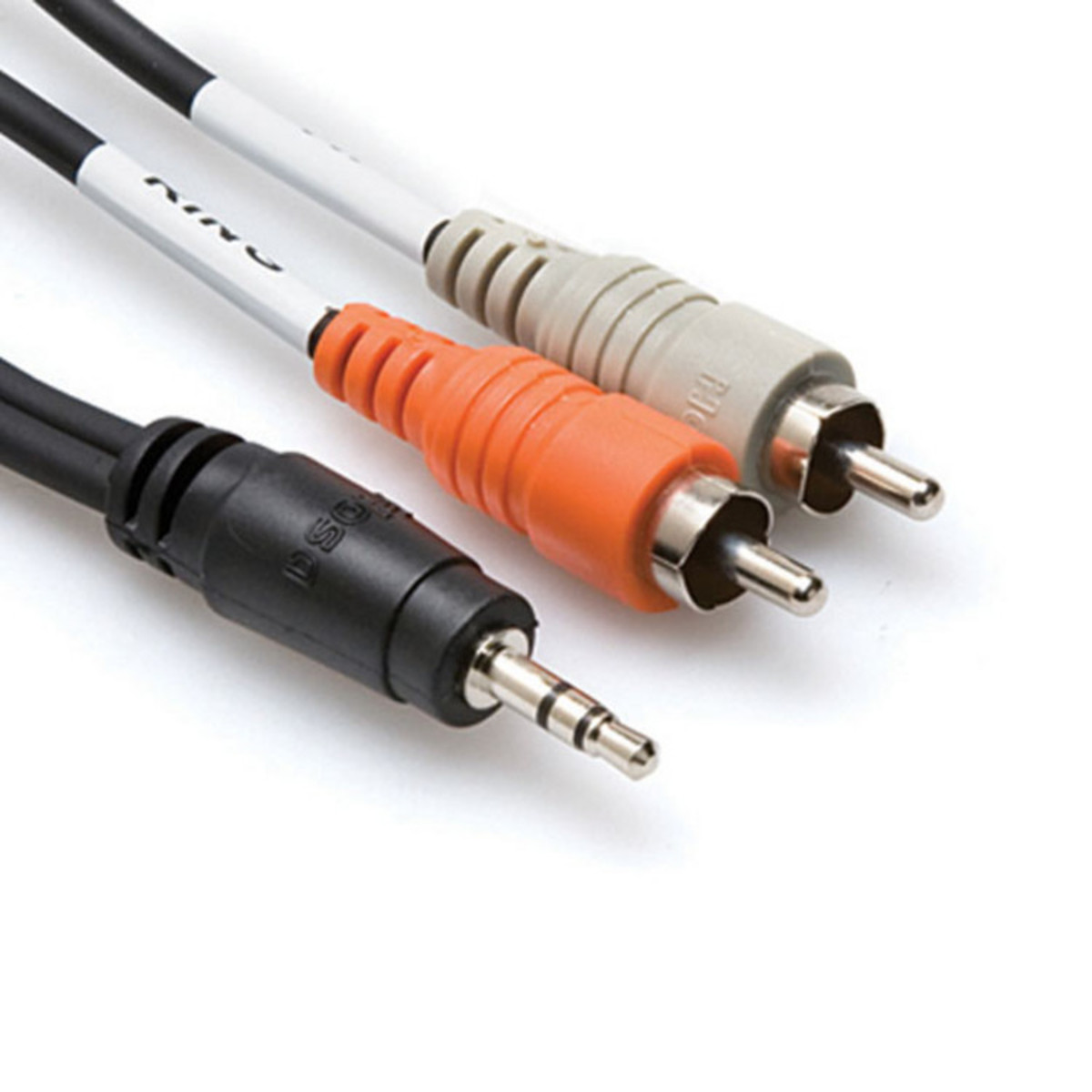 Click to view product details and reviews for Hosa Cmr 210 Stereo Breakout Cable 35mm Trs To Dual Rca 10ft.