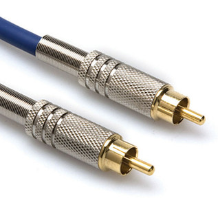 Hosa DRA-502 S/PDIF Coax Cable, RCA to RCA, 2m