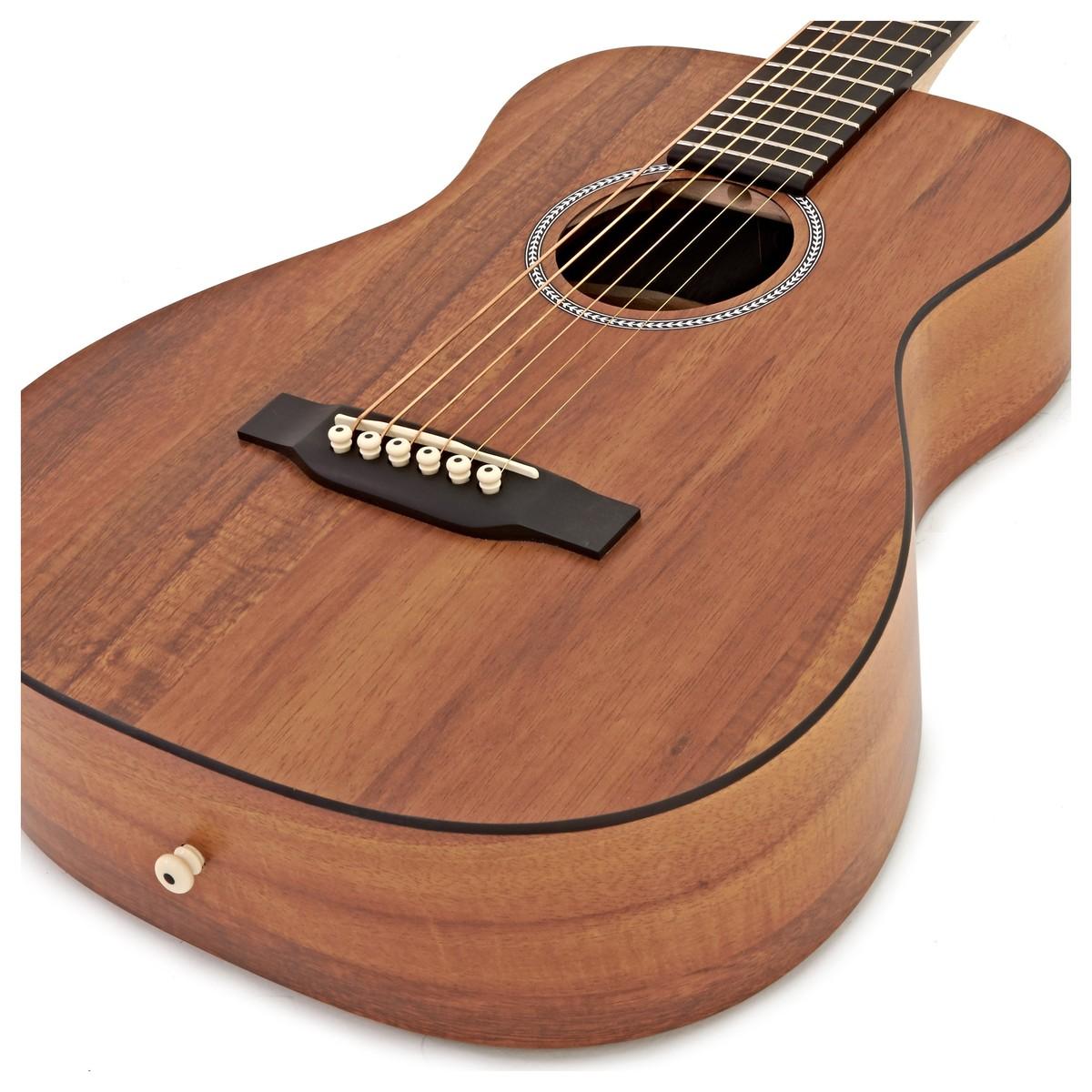 martin lxk2 little martin guitar inc gig bag at. Black Bedroom Furniture Sets. Home Design Ideas