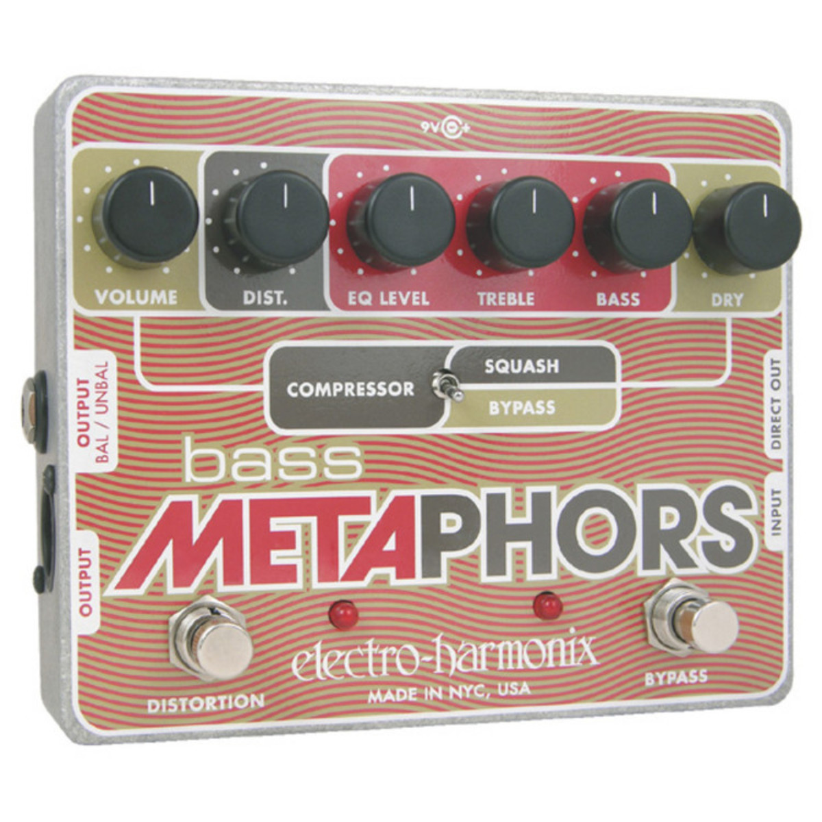 Click to view product details and reviews for Electro Harmonix Bass Metaphors Multi Effects Pedal.