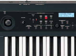 Korg PS60 Performance Synthesizer - controls1