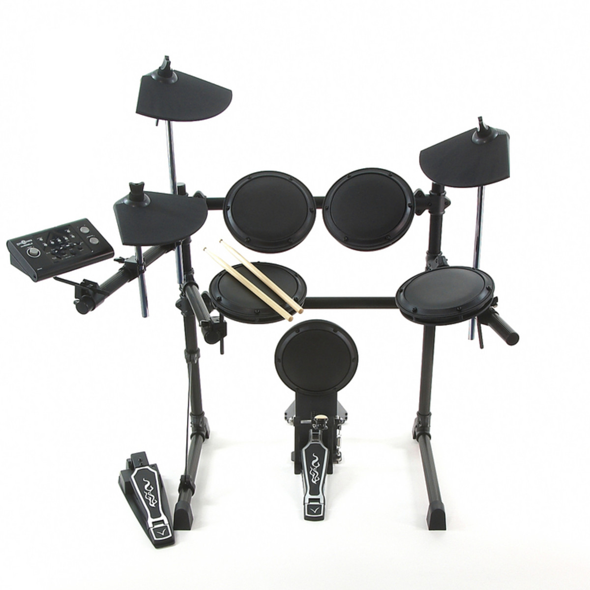 Digital Drums 502 J Electronic Drum Kit By Gear4music