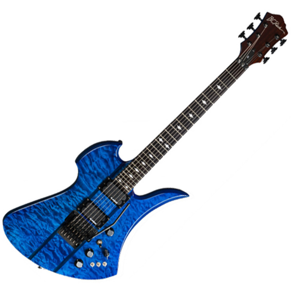 DISC BC Rich Mockingbird ST, Trans Blue at Gear4music
