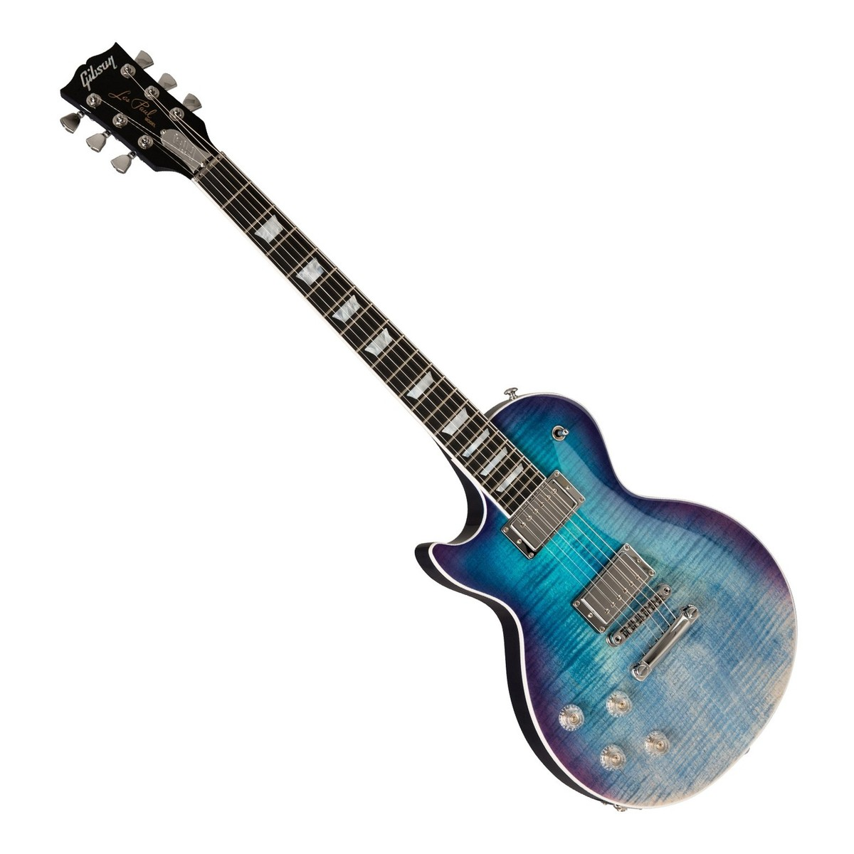 gibson les paul standard hp 2019 left handed blueberry fade at gear4music. Black Bedroom Furniture Sets. Home Design Ideas