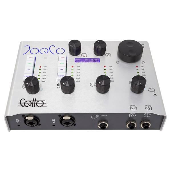 JoeCo Cello USB Audio Interface - Main (Top)
